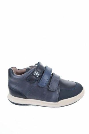 Παιδικά παπούτσια Garvalin, Μέγεθος 26, Χρώμα Μπλέ, Γνήσιο δέρμα, Τιμή 21,34€