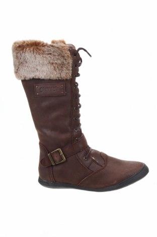 Детски обувки Garvalin, Размер 35, Цвят Кафяв, Естествена кожа, Цена 78,32лв.