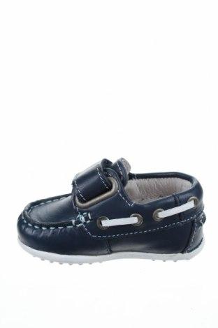 Παιδικά παπούτσια Garvalin, Μέγεθος 18, Χρώμα Μπλέ, Γνήσιο δέρμα, Τιμή 14,85€