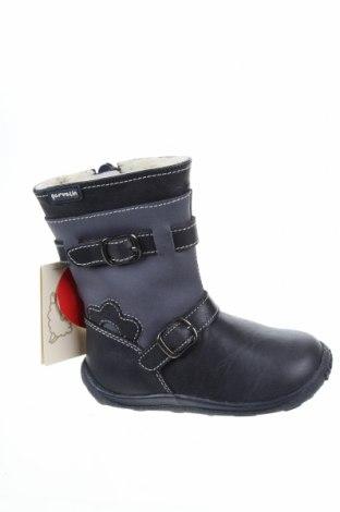 Детски обувки Garvalin, Размер 22, Цвят Сив, Естествена кожа, Цена 77,08лв.