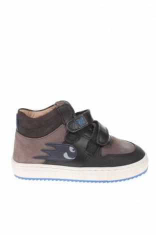 Παιδικά παπούτσια Garvalin, Μέγεθος 24, Χρώμα Γκρί, Φυσικό σουέτ, Τιμή 22,72€
