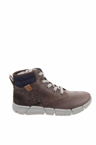 Παιδικά παπούτσια Geox, Μέγεθος 34, Χρώμα  Μπέζ, Γνήσιο δέρμα, φυσικό σουέτ, Τιμή 52,27€