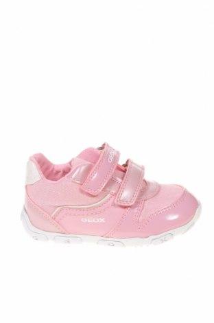 Παιδικά παπούτσια Geox, Μέγεθος 22, Χρώμα Ρόζ , Δερματίνη, κλωστοϋφαντουργικά προϊόντα, Τιμή 34,41€