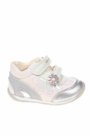 Gyerekcipők Geox, Méret 22, Szín Fehér, Eco bőr, textil, Ár 9044 Ft