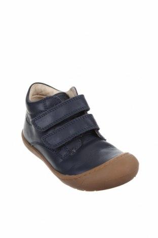 Παιδικά παπούτσια Lamino, Μέγεθος 25, Χρώμα Μπλέ, Γνήσιο δέρμα, Τιμή 37,11€