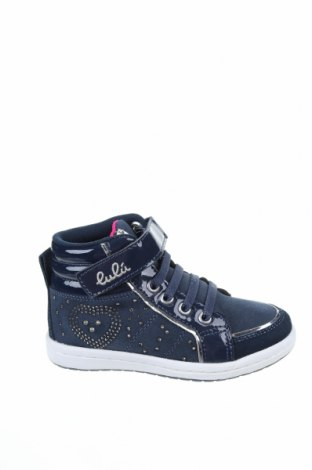 Παιδικά παπούτσια Lulu, Μέγεθος 26, Χρώμα Μπλέ, Κλωστοϋφαντουργικά προϊόντα, γνήσιο δέρμα, δερματίνη, Τιμή 18,25€