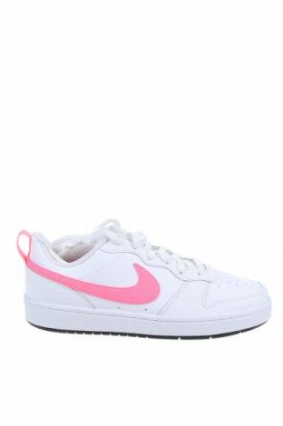 Παιδικά παπούτσια Nike, Μέγεθος 39, Χρώμα Λευκό, Γνήσιο δέρμα, Τιμή 49,87€