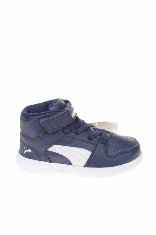 Παιδικά παπούτσια PUMA, Μέγεθος 23, Χρώμα Μπλέ, Δερματίνη, Τιμή 27,53€