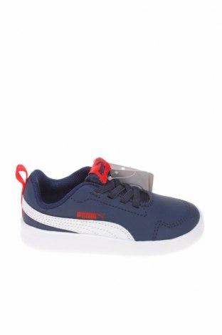Παιδικά παπούτσια PUMA, Μέγεθος 24, Χρώμα Μπλέ, Δερματίνη, Τιμή 25,23€