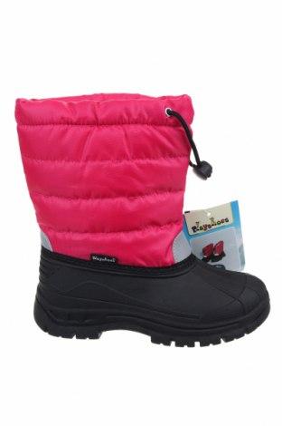 Детски обувки Playshoes, Размер 30, Цвят Розов, Текстил, полиуретан, Цена 25,76лв.
