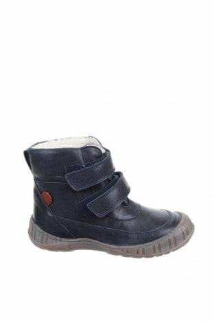Детски обувки Pom Pom, Размер 29, Цвят Син, Естествена кожа, Цена 53,55лв.