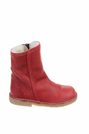 Παιδικά παπούτσια Pom Pom, Μέγεθος 27, Χρώμα Κόκκινο, Γνήσιο δέρμα, Τιμή 15,59€
