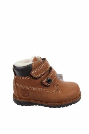 Παιδικά παπούτσια Primigi, Μέγεθος 20, Χρώμα Καφέ, Γνήσιο δέρμα, δερματίνη, Τιμή 39,89€