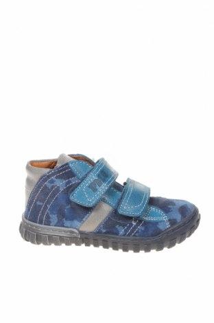 Παιδικά παπούτσια Primigi, Μέγεθος 26, Χρώμα Μπλέ, Φυσικό σουέτ, Τιμή 19,18€