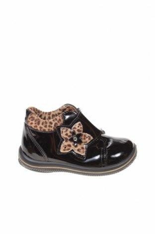 Παιδικά παπούτσια Primigi, Μέγεθος 22, Χρώμα Μαύρο, Δερματίνη, κλωστοϋφαντουργικά προϊόντα, Τιμή 17,01€