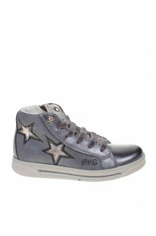 Детски обувки Primigi, Размер 32, Цвят Сив, Естествена кожа, Цена 48,30лв.