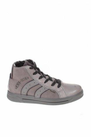 Παιδικά παπούτσια Primigi, Μέγεθος 33, Χρώμα Γκρί, Γνήσιο δέρμα, Τιμή 23,04€