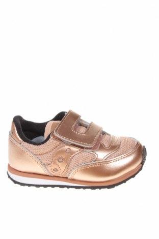 Παιδικά παπούτσια Saucony, Μέγεθος 23, Χρώμα Ρόζ , Γνήσιο δέρμα, κλωστοϋφαντουργικά προϊόντα, Τιμή 19,55€