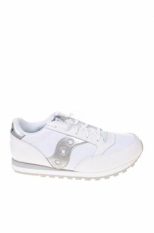 Παιδικά παπούτσια Saucony, Μέγεθος 37, Χρώμα Λευκό, Δερματίνη, γνήσιο δέρμα, Τιμή 25,11€