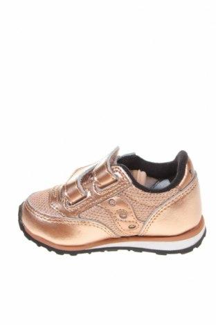 Παιδικά παπούτσια Saucony, Μέγεθος 20, Χρώμα Ρόζ , Γνήσιο δέρμα, κλωστοϋφαντουργικά προϊόντα, Τιμή 19,55€