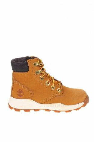 Παιδικά παπούτσια Timberland, Μέγεθος 32, Χρώμα Καφέ, Γνήσιο δέρμα, Τιμή 45,08€