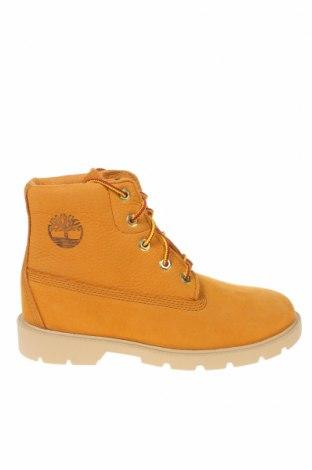 Παιδικά παπούτσια Timberland, Μέγεθος 35, Χρώμα Καφέ, Γνήσιο δέρμα, Τιμή 49,18€