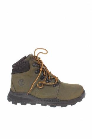 Παιδικά παπούτσια Timberland, Μέγεθος 32, Χρώμα Πράσινο, Γνήσιο δέρμα, Τιμή 49,18€