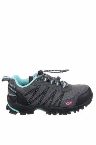 Παιδικά παπούτσια Trollkids, Μέγεθος 33, Χρώμα Γκρί, Κλωστοϋφαντουργικά προϊόντα, Τιμή 26,60€