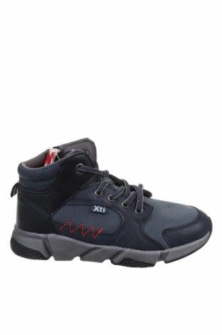 Παιδικά παπούτσια Xti, Μέγεθος 34, Χρώμα Γκρί, Δερματίνη, Τιμή 13,40€