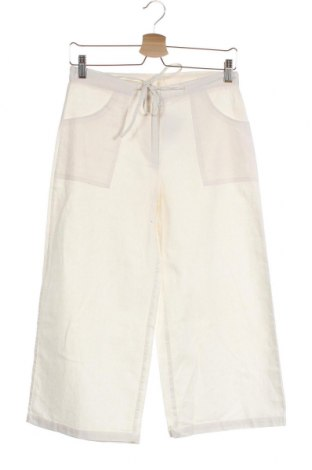 Детски панталон Crisp, Размер 15-18y/ 170-176 см, Цвят Екрю, 55% лен, 45% памук, Цена 7,09лв.