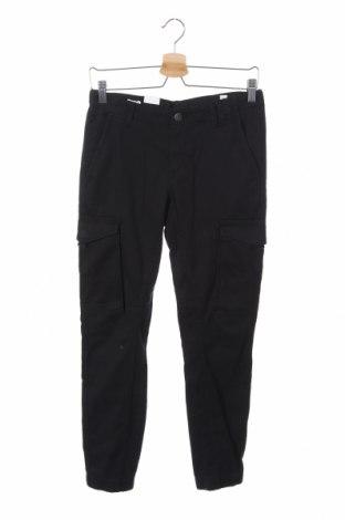Dětské kalhoty  Jack & Jones, Velikost 13-14y/ 164-168 cm, Barva Černá, 98% bavlna, 2% elastan, Cena  430,00Kč