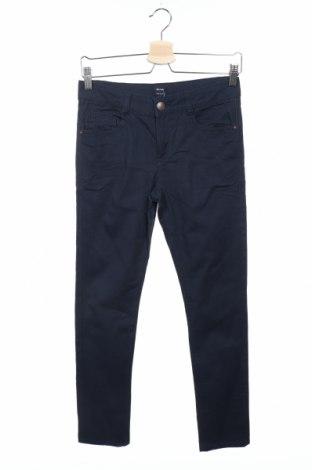 Παιδικό παντελόνι Kiabi, Μέγεθος 10-11y/ 146-152 εκ., Χρώμα Μπλέ, 98% βαμβάκι, 2% ελαστάνη, Τιμή 7,60€
