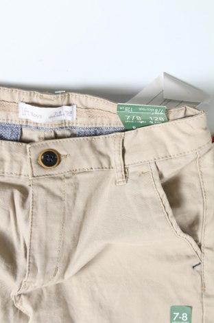 Παιδικό παντελόνι Lefties, Μέγεθος 7-8y/ 128-134 εκ., Χρώμα  Μπέζ, 97% βαμβάκι, 3% ελαστάνη, Τιμή 9,31€
