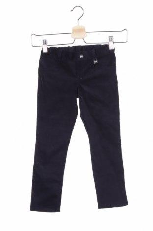 Παιδικό παντελόνι Paz Rodriguez, Μέγεθος 4-5y/ 110-116 εκ., Χρώμα Μπλέ, 95% βαμβάκι, 5% ελαστάνη, Τιμή 27,53€