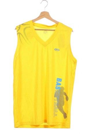 Μπλουζάκι αμάνικο παιδικό, Μέγεθος 15-18y/ 170-176 εκ., Χρώμα Κίτρινο, Πολυεστέρας, Τιμή 14,19€