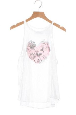 Μπλουζάκι αμάνικο παιδικό Abercrombie Kids, Μέγεθος 10-11y/ 146-152 εκ., Χρώμα Λευκό, Τιμή 8,83€