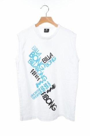 Μπλουζάκι αμάνικο παιδικό Billabong, Μέγεθος 11-12y/ 152-158 εκ., Χρώμα Λευκό, Τιμή 5,36€