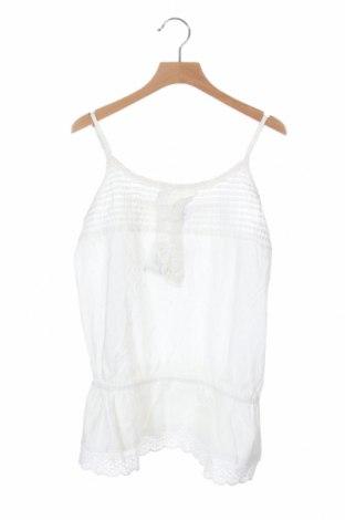 Μπλουζάκι αμάνικο παιδικό Crash One, Μέγεθος 15-18y/ 170-176 εκ., Χρώμα Λευκό, Βαμβάκι, Τιμή 4,64€