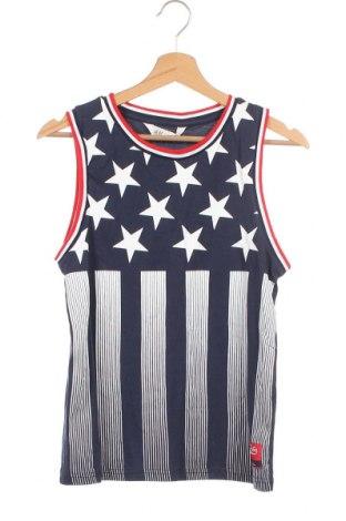 Μπλουζάκι αμάνικο παιδικό H&M, Μέγεθος 10-11y/ 146-152 εκ., Χρώμα Μπλέ, Βαμβάκι, Τιμή 3,64€