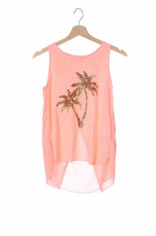 Μπλουζάκι αμάνικο παιδικό H&M, Μέγεθος 12-13y/ 158-164 εκ., Χρώμα Ρόζ , Πολυεστέρας, Τιμή 5,36€
