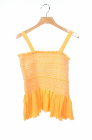Μπλουζάκι αμάνικο παιδικό Zara Kids, Μέγεθος 12-13y/ 158-164 εκ., Χρώμα Πορτοκαλί, 99% πολυεστέρας, 1% ελαστάνη, Τιμή 9,26€