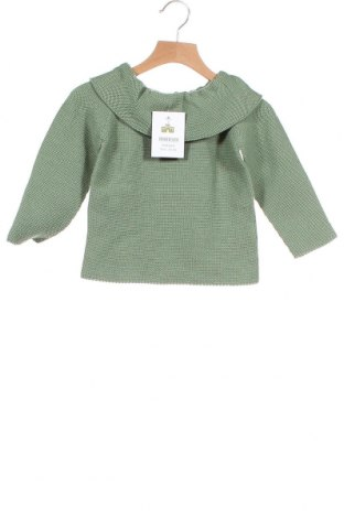 Παιδικό πουλόβερ Lola Palacios, Μέγεθος 3-4y/ 104-110 εκ., Χρώμα Πράσινο, Βαμβάκι, Τιμή 7,50€