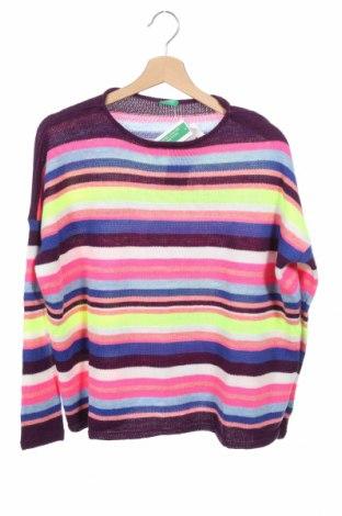 Παιδικό πουλόβερ United Colors Of Benetton, Μέγεθος 14-15y/ 168-170 εκ., Χρώμα Πολύχρωμο, 84%ακρυλικό, 16% μαλλί, Τιμή 9,12€