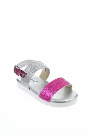 Детски сандали Billowy, Размер 25, Цвят Сребрист, Естествена кожа, Цена 29,50лв.