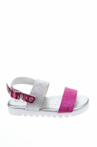 Детски сандали Billowy, Размер 26, Цвят Сребрист, Естествена кожа, Цена 29,50лв.