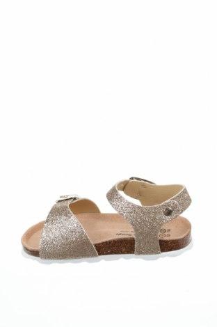 Детски сандали Billowy, Размер 22, Цвят Златист, Еко кожа, Цена 26,40лв.