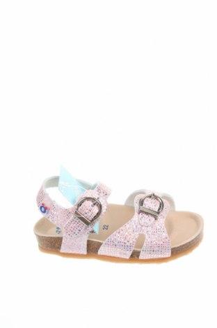 Детски сандали Conguitos, Размер 22, Цвят Розов, Еко кожа, Цена 36,75лв.