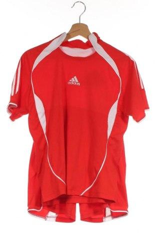 Παιδικό συνολακι Adidas, Μέγεθος 11-12y/ 152-158 εκ., Χρώμα Κόκκινο, Πολυεστέρας, Τιμή 20,48€