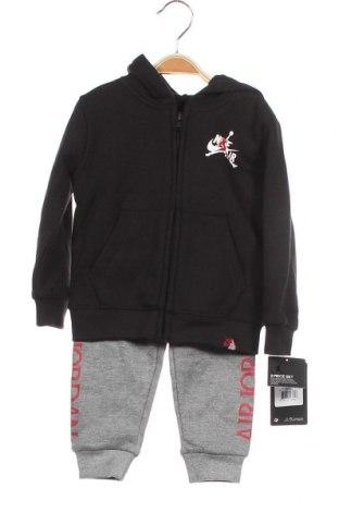 Παιδικό συνολακι Air Jordan Nike, Μέγεθος 18-24m/ 86-98 εκ., Χρώμα Μαύρο, 60% βαμβάκι, 40% πολυεστέρας, Τιμή 27,53€