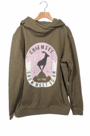 Детски суичър Chiemsee, Размер 15-18y/ 170-176 см, Цвят Зелен, 88% памук, 12% полиестер, Цена 26,88лв.